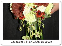 Chocolate Fever Bridal Bouquet