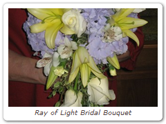 Ray of Light Bridal Bouquet