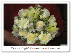Ray of Light Bridesmaid Bouquet