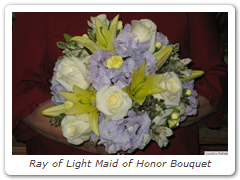 Ray of Light Maid of Honor Bouquet