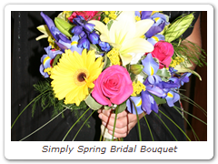 Simply Spring Bridal Bouquet